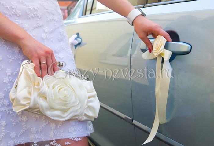 Как украсить свадьбу своими руками лентами фото