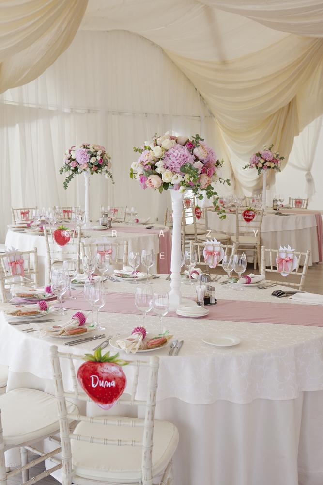 Клубничная свадьба в Коломенском