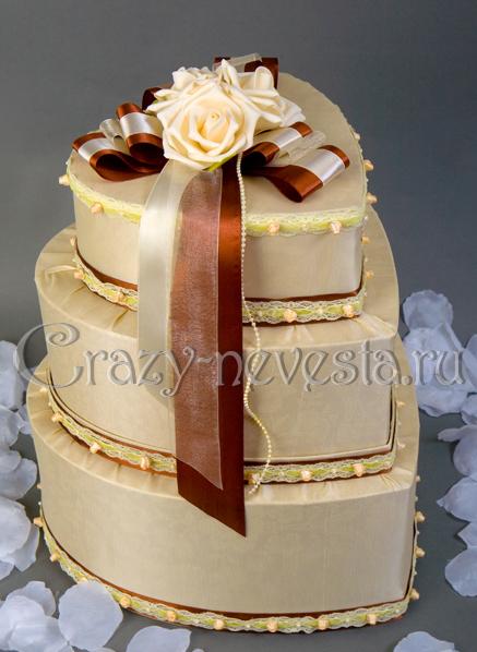 Коробка в виде торта своими руками