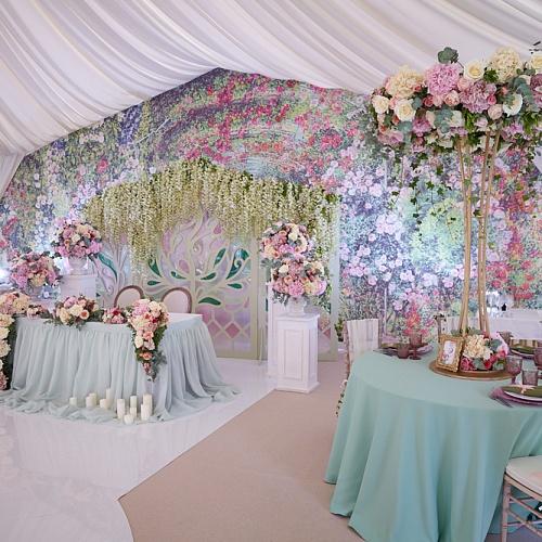 Фото оформления свадебного зала: 413 года на 34